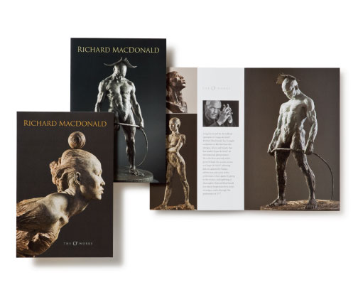 The Art of Richard MacDonald - Brochures