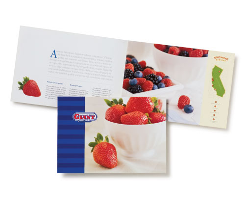 Cal Giant Strawberries - Brochure